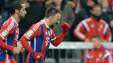 Franck Ribéry | Bild: picture-alliance/dpa