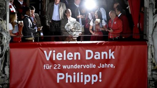 Servus Philipp Lahm   Bild: dpa-Bildfunk