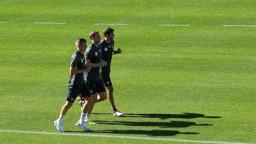 Toni Kroos, Manuel Neuer und Thomas Mueller | Bild: picture-alliance/dpa