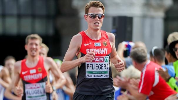 Marathon-Leidensmann Pflieger findet seinen Retter