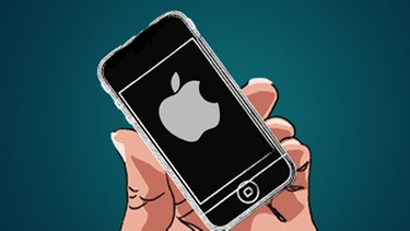 Illustration Apple Handy | Bild: BR