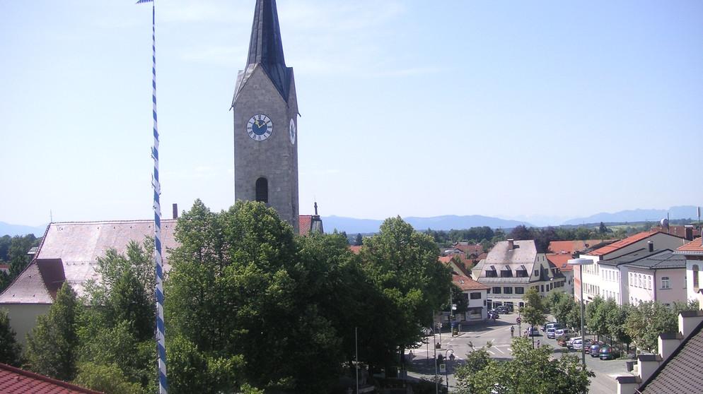 Br-Radltour 2014: Tourstadt Holzkirchen | Br-Radltour