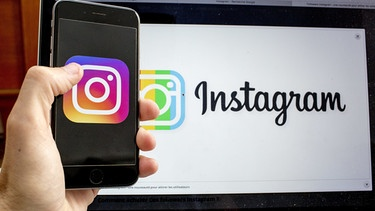 Instagram-Logo | Bild: picture-alliance/dpa