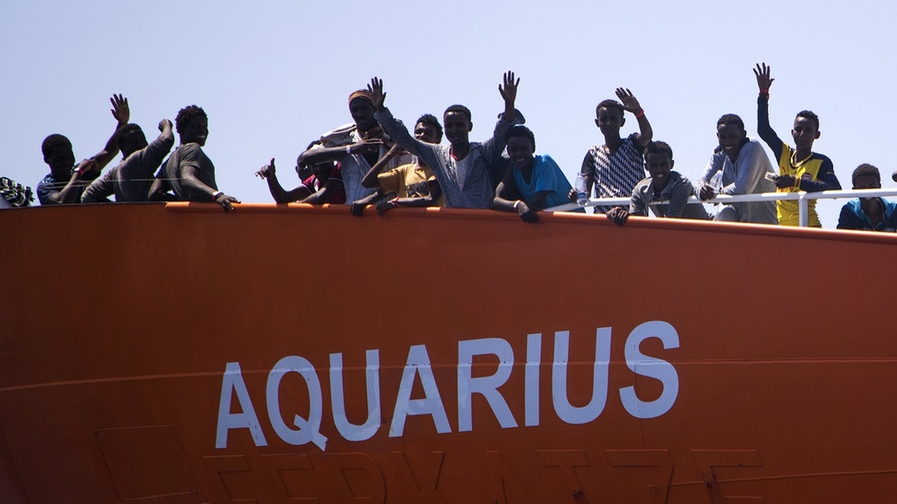 Aquarius, Mittelmeer | Bild: picture-alliance/dpa