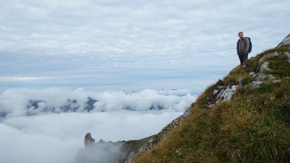 Klettersteig Brunni : Über dem schweizer nebel klettersteig auf den rigidalstock bei