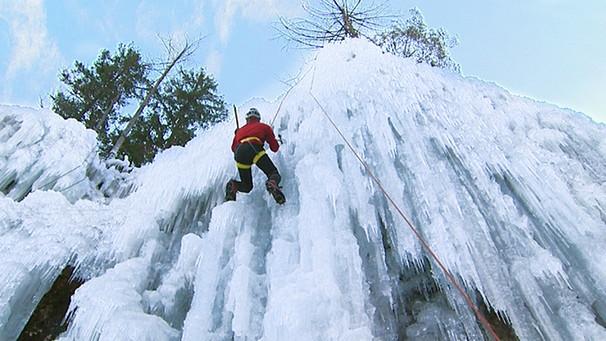Klettergurt Eisklettern : Tv slowenien eisklettern in frostiger schönheit alpen donau