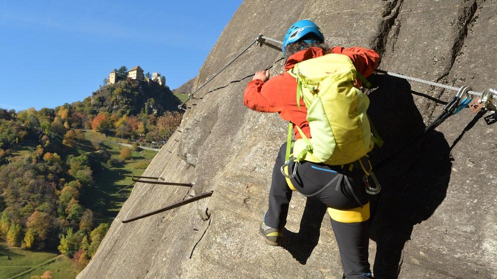 Klettersteig Unterstell : Klettersteige in naturns