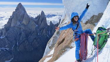 Caro North am Cerro Torre | Bild: Christina Huber