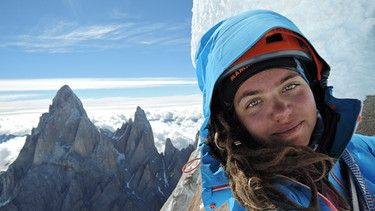 Caro North am Cerro Torre | Bild: Caro North