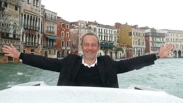 Michael Althen in Venedig | Bild: Beatrix Schnippenkoetter
