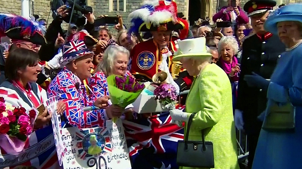 Grossbritannien Der 90 Geburtstag Von Queen Elizabeth Euroblick