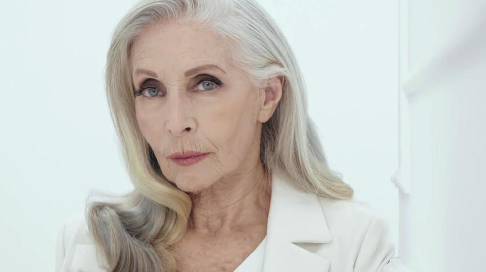 Ältere ältere Fotomodelle