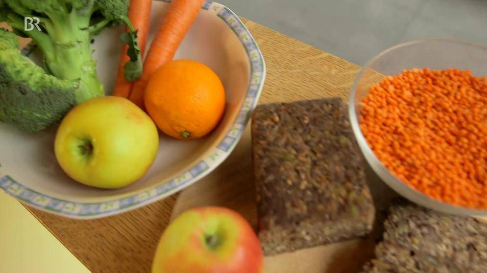 Ballaststoffarme vegane Ernährung