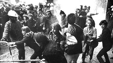 Studentenproteste 1968 | Bild: picture-alliance/dpa