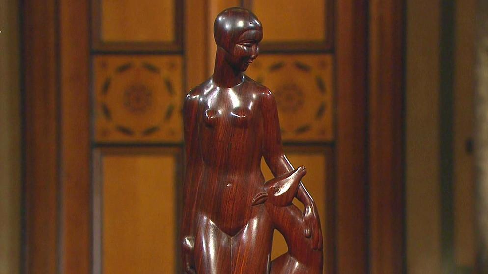Leuchter & Kandelaber Das Beste Selten Ältere Schöne Skulptur Narr Hofnarr Aus Messing Dekoration
