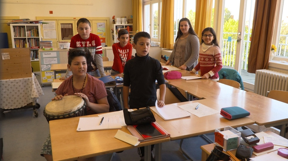 Schuljahr 2018/19 Bayern plant ganztägige Deutschklassen für ausländische Schüler
