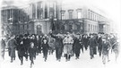 Demonstrationen am 9.11. in Berlin, Unter den Linden, in Höhe der Universität | Bild: Bundesarchiv, Bild 183-18594-0045 / CC-BY-SA