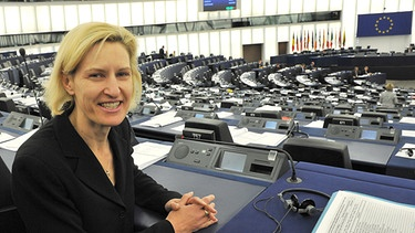 Portrait im EU-Parlament | Bild: picture-alliance/dpa