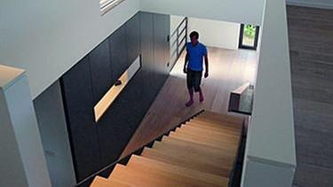 Gestalterische Akzente Im Treppenaufgang | Bild: BR