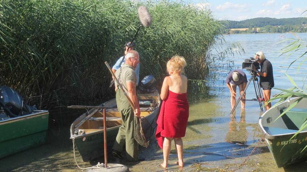 Making Of Rund Um Den Bodensee Ii Traumpfade Br Fernsehen