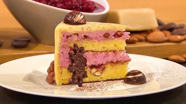 Download Gebrannte Mandel Torte Mit Preiselbeersahne Rezepte