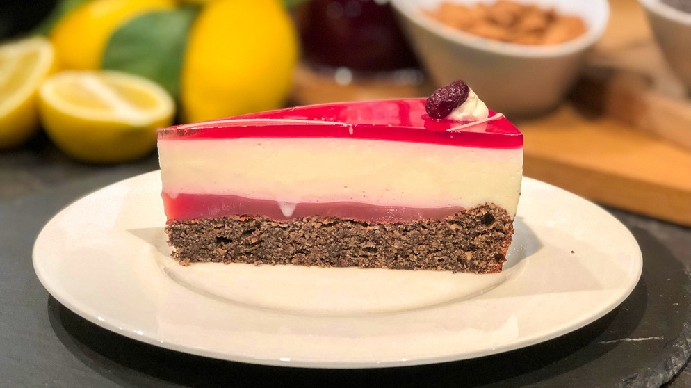 Wir In Bayern Rezepte Joghurt Mohn Torte Mit Cranberry Rezepte