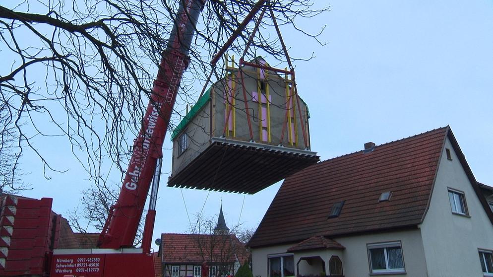 Umzug Xxl Ein Haus Zieht Um Zwischen Spessart Und Karwendel Br