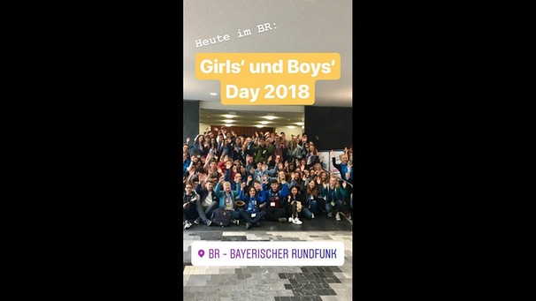 Girls' & Boys' Day 2018 im BR | Bild: Bayerischer Rundfunk (via YouTube)