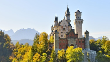 Schloss Neuschwanstein | Bild: picture alliance/imageBROKER/Lilly