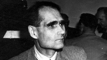 Rudolf Hess / National Archives papers | Bild: picture-alliance/dpa