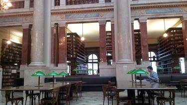 Lieblingsbibliothek von Ina, die Bibliothek der Akademischen Wisssenschaften | Bild: Ina Hartmann