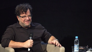 Oscarpreisträger Kenneth Lonergan in der Master Class an der HFF | Bild: BR