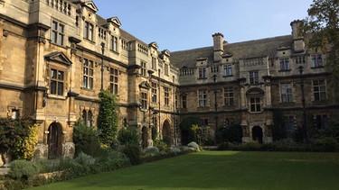 Der Altbau der Universität in Cambridge | Bild: Andreas Eder