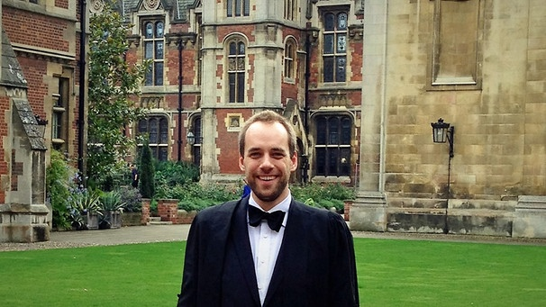 DAAD-Student Andreas Eder in Cambridge | Bild: Andreas Eder