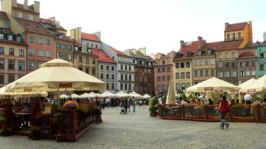 "Der Altmarkt ""Rynek"" im Herzen Breslaus  | Bild: © Hanna Gołaszewska"