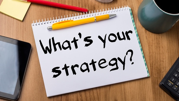 What`s your strategy? | Bild: colourbox.com