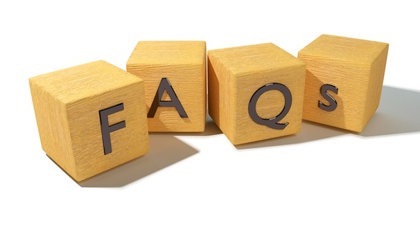 Frequently Asked Questions | Bild: colourbox.com