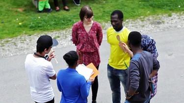 Fiona, Kenny und Sen-dla | Bild: BR