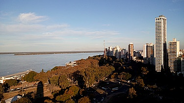 Rosario am Paraná, Argentinien | Bild: Louise Lust