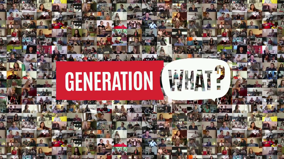 Generation What? mit Logo | Bild: BR