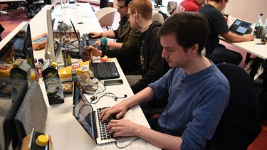 Studierende beim Global Game Jam | Bild: picture-alliance/dpa