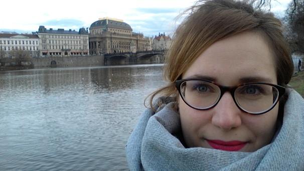 Ina Hartmann in Tschechien | Bild: Ina Hartmann