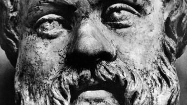 Steinbüste von Sokrates