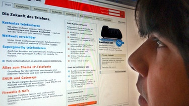 Internettelefon - die billigste Variante | Bild: picture-alliance/dpa