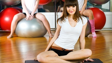 Studentinnen im Fitness-Studio | Bild: colourbox.com
