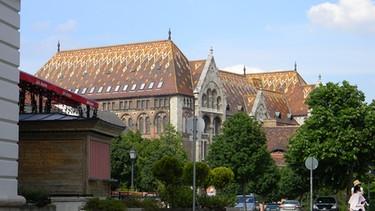 Ungarisches Staatsarchiv in Budapest | Bild: Attila Magyar