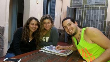 Louise Lust mit Freunden in Rosario/Argentinien | Bild: Louise Lust