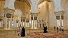 Moschee in Abu Scheich | Bild: picture-alliance/dpa