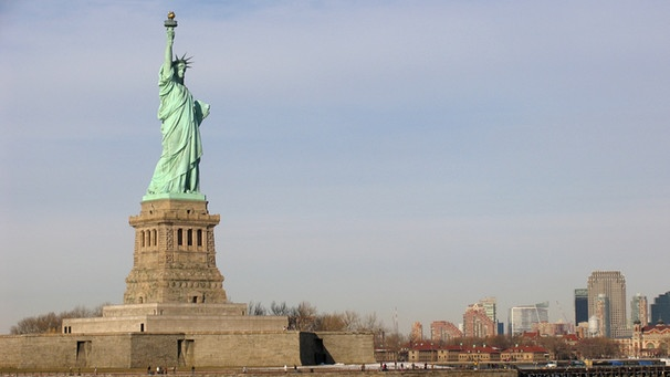 Freiheitsstatue in New York | Bild: picture-alliance/dpa