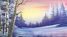 Twilight Beauty von Bob Ross. | Bild: BR/Bob Ross Company